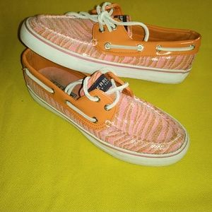 SPERRY LOAFERS, WILD AND FUN, WOMENS 6.5